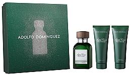 Parfémy, Parfumerie, kosmetika Adolfo Dominguez Agua Fresca Vetiver - Sada (edt/120ml + asb/75ml + sh/gel75ml)