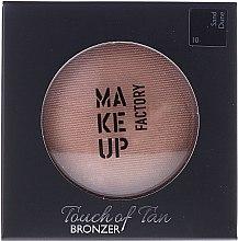 Parfémy, Parfumerie, kosmetika Bronzer na obličej - Make up Factory Touch Of Tan Bronzer