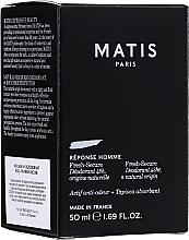 Parfémy, Parfumerie, kosmetika Deodorant - Matis Reponse Homme Fresh Secure Deodorant 48H Natural Origin