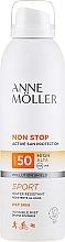 Parfémy, Parfumerie, kosmetika Opalovací sprej pro tělo - Anne Moller Non Stop Active Sun Invisible Mist SPF50