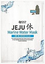 Parfémy, Parfumerie, kosmetika Regenerační plátýnková maska s mořskou vodou - SNP Jeju Rest Marine Water Mask