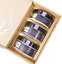 Parfémy, Parfumerie, kosmetika Sada Acai bobule - Nature Queen(peel/250g+b/butter/150ml+b/lotion/200ml)
