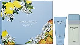 Parfémy, Parfumerie, kosmetika Dolce&Gabbana Light Blue - Sada (edt/50 + b/l/50)
