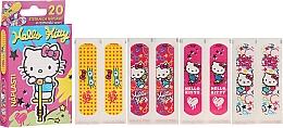 Parfémy, Parfumerie, kosmetika Ochranné náplasti pro děti - VitalCare Hello Kitty Kids Plasters