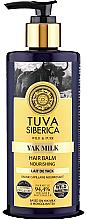 Parfémy, Parfumerie, kosmetika Výživný balzám na vlasy - Natura Siberica Tuva Siberica Yak Milk Nourishing Bio-Conditioner