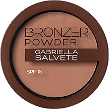 Parfémy, Parfumerie, kosmetika Bronzující pudr - Gabriella Salvete Bronzer Powder SPF15