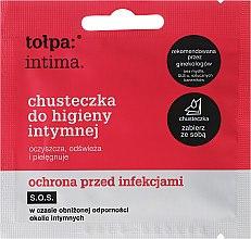 Parfémy, Parfumerie, kosmetika Ubrousky pro intimní hygienu antibakteriální 1 ks - Tolpa Intima