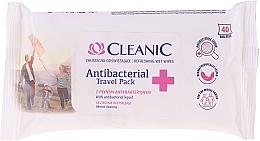 Parfémy, Parfumerie, kosmetika Vlhčené antibakteriální ubrousky - Cleanic Antibacterial Travel Pack Refreshing Wet Wipes