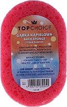 Parfémy, Parfumerie, kosmetika Mycí houba do koupele 30451, růžovo-žlutá - Top Choice