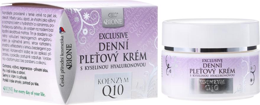Denní krém na obličej - Bione Cosmetics Exclusive Organic Day Facial Cream With Q10
