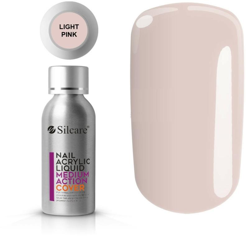 Akryl na nehty - Silcare Nail Acrylic Liquid Medium Action Cover