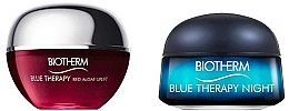 Parfémy, Parfumerie, kosmetika Sada - Biotherm Mini Blue Therapy (face/cr/15ml + n/face/cr/15ml)