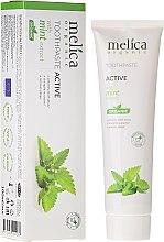 Parfémy, Parfumerie, kosmetika Zubní pasta s mátovým extraktem - Melica Organic