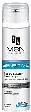 Parfémy, Parfumerie, kosmetika Gel na holení - AA Men Sensitive Moisturizing Shaving Gel