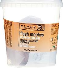 Parfémy, Parfumerie, kosmetika Prášek na barvení - Black Professional LineFlash Meches