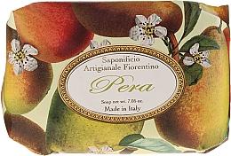 """Parfémy, Parfumerie, kosmetika Toaletní mýdlo """"Hruška"""" - Saponificio Artigianale Fiorentino Pear"""