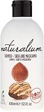 """Parfémy, Parfumerie, kosmetika Šampon na vlasy s účinkem kondicionéru """"Shea and Macadamia"""" - Naturalium Shea & Macadamia Shampoo"""