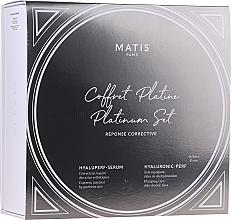 Parfémy, Parfumerie, kosmetika Sada - Matis Reponse Corrective Platinum Set (ser/30ml + cr/50ml)