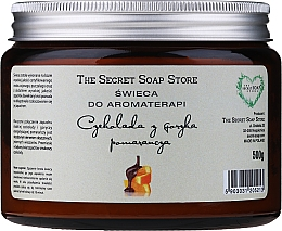Parfémy, Parfumerie, kosmetika Vonná svíčka Čokoláda s pomerančem - The Secret Soap Store Aromatherapy Candle