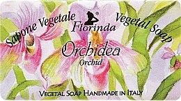 "Parfémy, Parfumerie, kosmetika Mýdlo přírodní ""Orchidea"" - Florinda Sapone Vegetale Vegetal Soap Orchid"