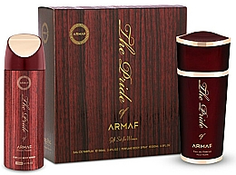 Parfémy, Parfumerie, kosmetika Armaf The Pride of Armaf - Sada (edp 100 ml + deo/spray 200 ml)