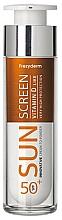 Parfémy, Parfumerie, kosmetika Opalovací krém na obličej - Frezyderm Sun Screen Vitamin D Like Skin Benefits Cream to Powder SPF50+