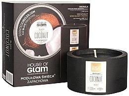 Parfémy, Parfumerie, kosmetika Aromatická svíčka - House of Glam Black Coconut Candle
