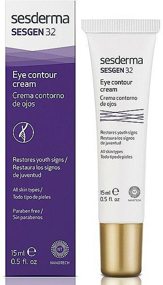 Krém na oční kontury - SesDerma Laboratories Sesgen 32 Eye Contour Cream — foto N1