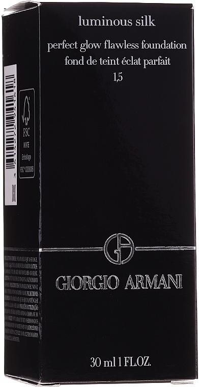 Tonální krém - Giorgio Armani Luminous Silk Foundation