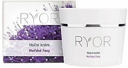 Parfémy, Parfumerie, kosmetika Noční pleťový krém - Ryor Night Cream Marine Algae