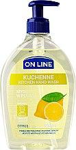 Parfémy, Parfumerie, kosmetika Mýdlo do kuchyně - On Line Kitchen Hand Wash Citrus Soap
