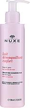 Parfémy, Parfumerie, kosmetika Čisticí mléko s růžovými lístky na obličej, oči a rty - Nuxe Comforting Cleansing Milk With Rose Petals