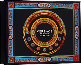 Parfémy, Parfumerie, kosmetika Versace Pour Femme Dylan Blue - Sada (edp/50ml + b/l/50ml + s/g/50ml)