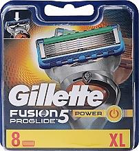 Parfémy, Parfumerie, kosmetika Vyměnitelné kazety na holení, 8 ks. - Gillette Fusion ProGlide Power