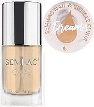 Parfémy, Parfumerie, kosmetika Olej na nehty a kůžičku s citrusovou vůní - Semilac Care Nail & Cuticle Elixir Dream