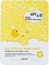 Parfémy, Parfumerie, kosmetika Plátýnková pleťová vaječná maska - Esfolio Pure Skin Egg Essence Mask Sheet