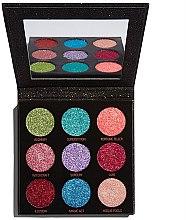Parfémy, Parfumerie, kosmetika Paleta očních stínů se třpytkami - Makeup Revolution Pressed Glitter Palette Abracadabra