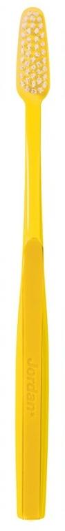 """Zubní kartáček s tvrdými štětinami """"Classic"""", žlutý - Jordan Classic Hard Toothbrush — foto N2"""
