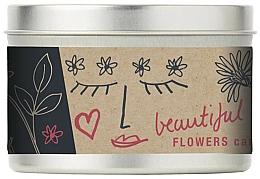 Parfémy, Parfumerie, kosmetika Vonná svíčka - Bath House Scented Candle Wild Flower