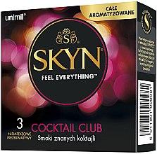 Parfémy, Parfumerie, kosmetika Kondóm , 3 ks - Unimil Skyn Cocktail Club