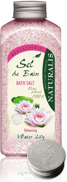 Koupelová sůl - Naturalis Sel de Bain Water Lily Bath Salt