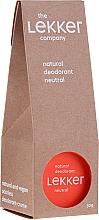 Parfémy, Parfumerie, kosmetika Přírodní deodorant bez vůně - The Lekker Company Natural Deodorant Neutral