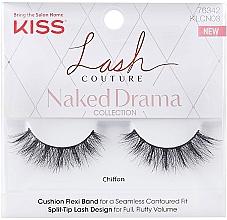 Parfémy, Parfumerie, kosmetika Umělé řasy - Kiss Lash Couture Naked Drama Collection Chiffon