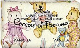 Parfémy, Parfumerie, kosmetika Přírodní mýdlo Vanilka - Florinda Sapone Vegetale Vegetal Soap Vanilla