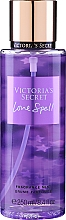 Parfémy, Parfumerie, kosmetika Parfémovaný sprej na tělo - Victoria's Secret Love Spell (2016) Fragrance Body Mist
