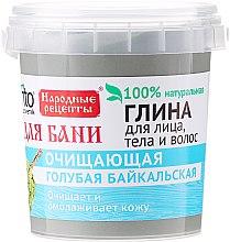 Parfémy, Parfumerie, kosmetika Svěle modrá Bajkalová hlína na obličej, tělo a vlasy, na koupel - Fito Kosmetik