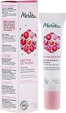 Parfémy, Parfumerie, kosmetika Osvěžující oční gel - Melvita Nectar De Rose Fresh Eye-Countour Gel