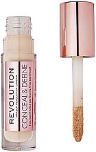 Parfémy, Parfumerie, kosmetika Korektor na obličej - Makeup Revolution Conceal and Define Concealer