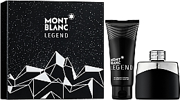 Parfémy, Parfumerie, kosmetika Montblanc Legend - Sada (edt/50ml + sh/gel/100ml)