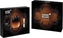 Parfémy, Parfumerie, kosmetika Montblanc Legend Night - Sada (edp/100ml + edp/7.5ml + ash/balm/100ml)